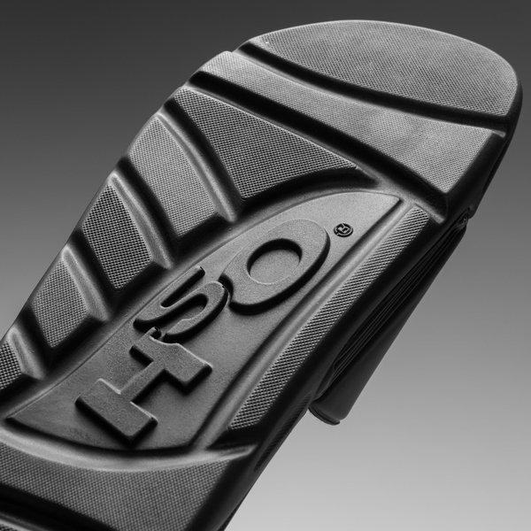 Pantoufles Velcro Noir H2o w37DKNL