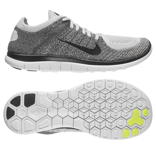 huge discount 63b0f 7e0e6 Nike Free Running Shoe Flyknit 4.0 Pure Platinum Midnight Fog Light  Charcoal   www.unisportstore.com