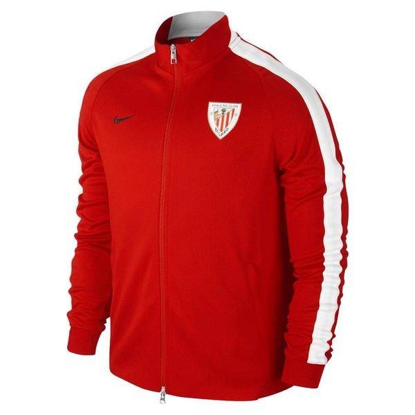 joyería perspectiva Giro de vuelta  Nike Athletic Bilbao N98 Track Top Authentic Sport Red/White |  www.unisportstore.com