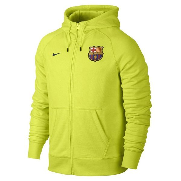 purchase cheap 37def dfe41 Nike Barcelona Hoodie Authentic AW77 FZ Volt | www ...