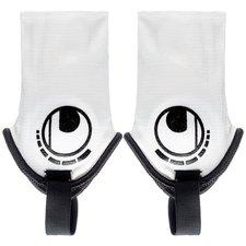 Ankelbeskyttere fra tyske Uhlsport, der kan bruges til spilleren der ønsker, at beskytte sig mod slag og stemplinger på anklen. Indeholder to stk. OBS: Sm
