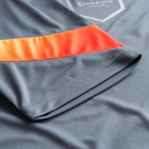 adidas Trainings T Shirt Champions League GrauOrange
