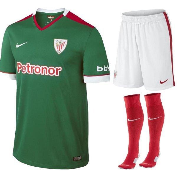 size 40 44fb5 528bc Athletic Bilbao Away Kit 2014/15 Kids | www.unisportstore.com