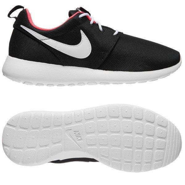 Nike Roshe Run GS Black/Hyper Punch