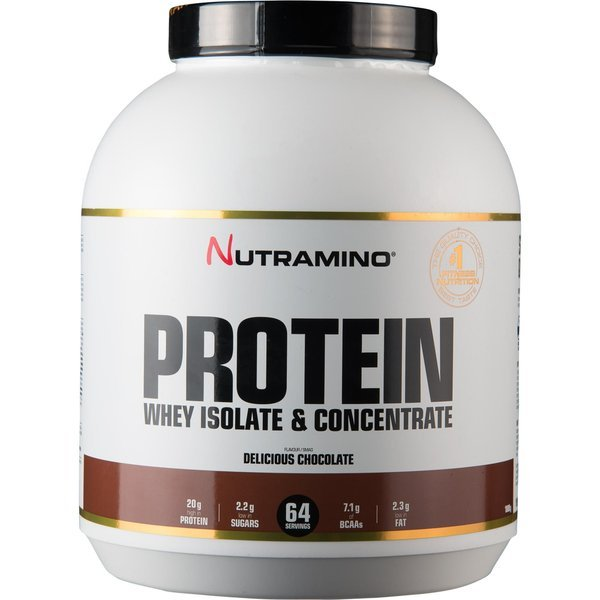 Nutramino Whey Isolate Protein Chocolat 1,8 kg.