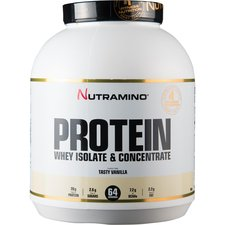 Image of   Nutramino Whey Isolate Protein Vanille 1,8 kg.