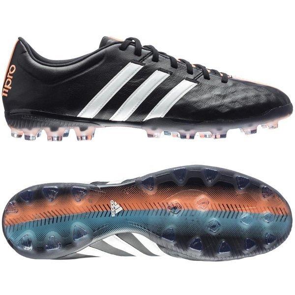 adidas 11Pro AG Core Black/White/Flash Orange | www ...