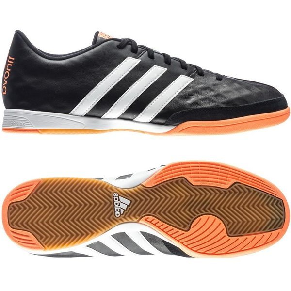 adidas 11Nova IN Core BlackWhiteFlash Orange