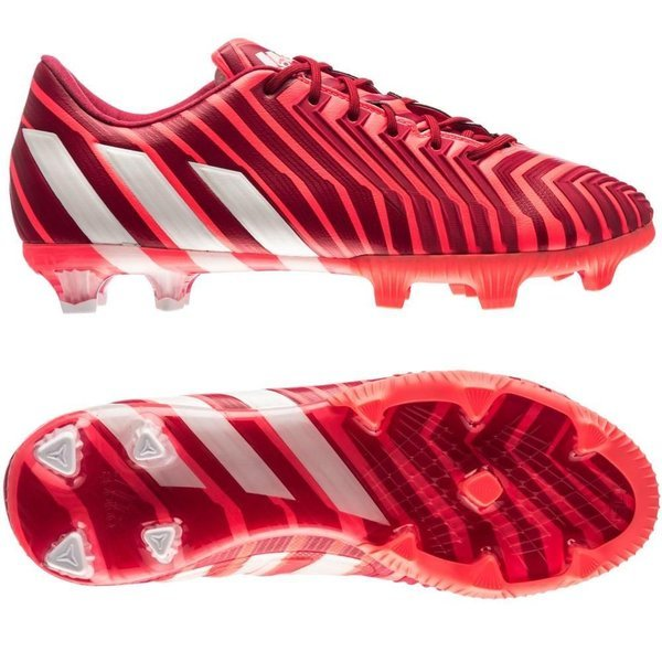 581348fec266 adidas Predator Instinct FG Bold Red White Flash Red Women. Read more about  the product. - football boots. - football boots image shadow