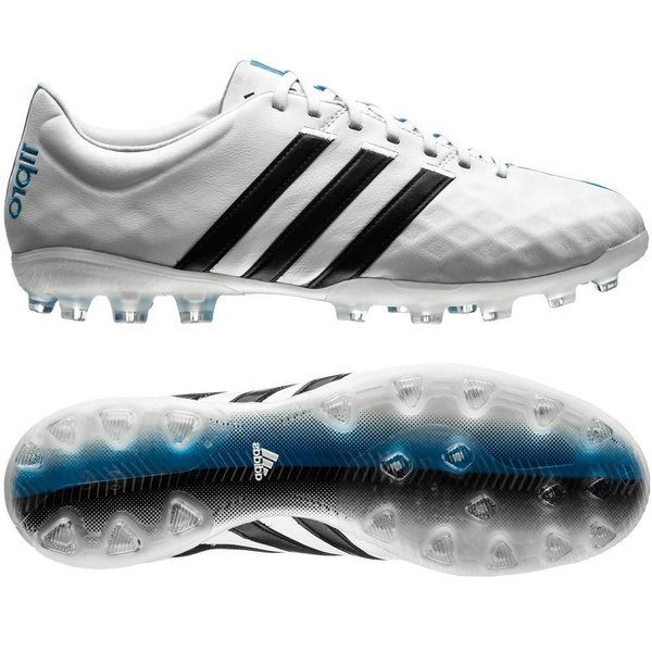 adidas 11Pro AG White/Core Black/Solar Blue | www ...