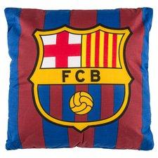 Barcelona Kudde Logo - Röd/Blå