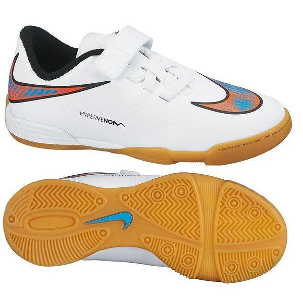 timeless design 45c72 8ccbf Nike - Hypervenom Phade IC Vit Blå Orange Barn