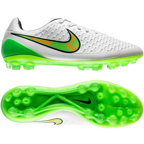 Nike Magista Opus AG White/Poison Green/Black/Total Orange