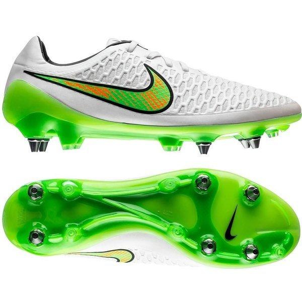 917b80d479514 Nike Magista Opus SG-PRO White Poison Green Black Total Orange