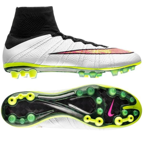 new style 7d521 92876 Nike Mercurial Superfly AG White/Volt/Black/Hyper Pink