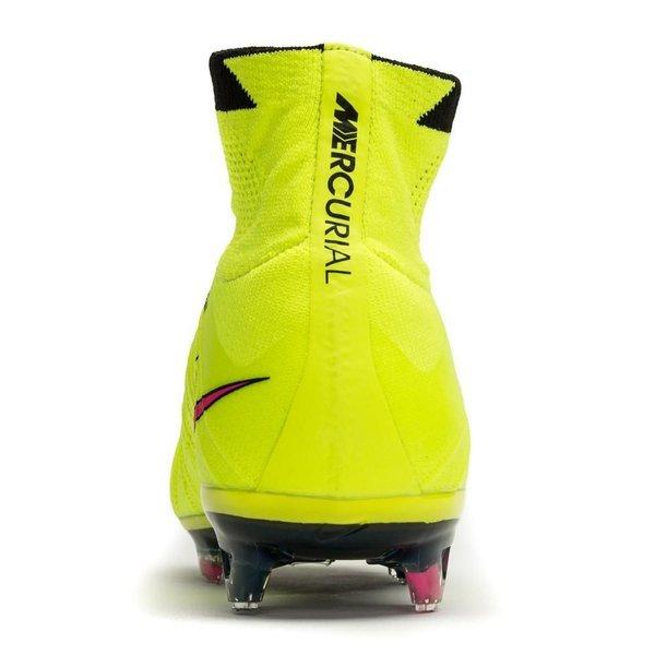 3bd9bcd86 Nike Mercurial Superfly FG Volt Hyper Pink Black