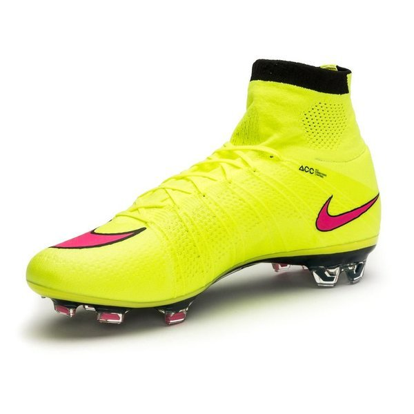 new arrivals cbd2b 63c9a Nike Mercurial Superfly FG Volt/Hyper Pink/Black | www ...