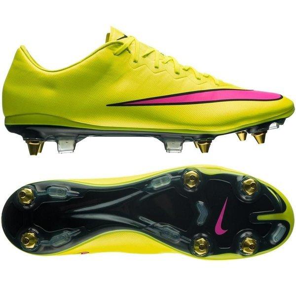 promo code e016d bc2b9 Nike Mercurial Vapor X SG-PRO Volt/Hyper Pink/Black | www ...