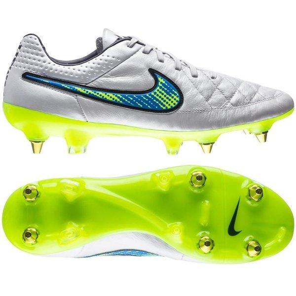 Nike Tiempo Legend Hvid V ACC SG PRO Hvid Legend Neon Blå 1ccb6d