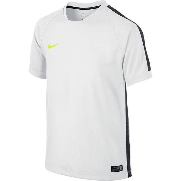 Nike Trænings T Shirt Squad Flash II HvidSortNeon Børn