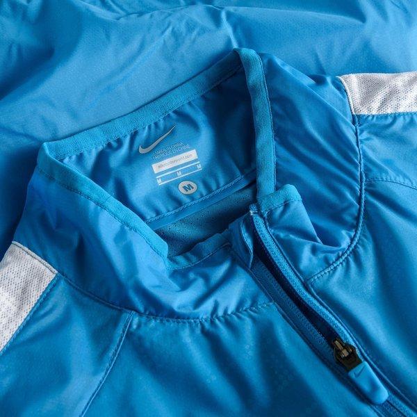Nike Treningsjakke GPX Lightweight Woven BlåHvit
