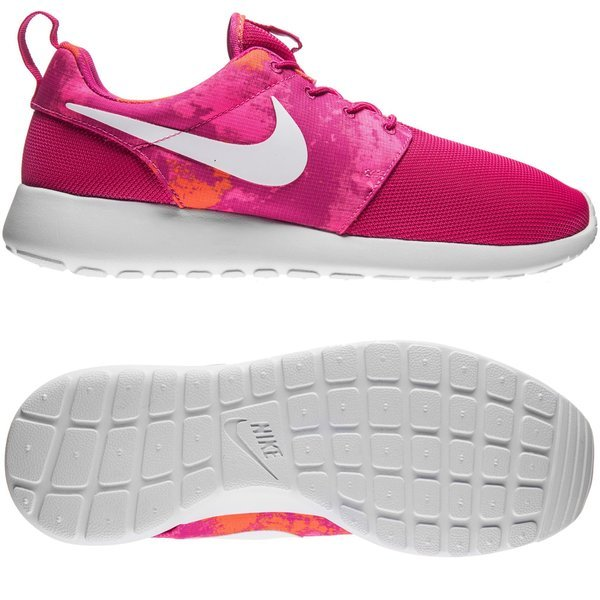 huge selection of 11b87 1e3bc 90.00 EUR. Price is incl. 19% VAT. -60%. Nike Roshe One Print  Fireberry White Pink Power Total Orange Women