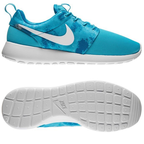 new product 3d8b1 3fda4 90.00 EUR. Price is incl. 19% VAT. -56%. Nike Roshe One Print  Clearwater White Dark Electric Blue Women