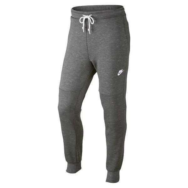 Nike Fleece Bukse GråHvit Barn   unisportstore.no