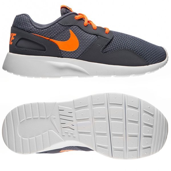 factory price 7bcee 04137 Nike Kaishi Run Dark Grey Total Orange Kids   www.unisportstore.com