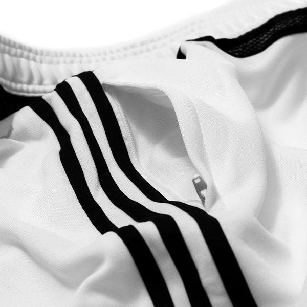 adidas trainingshose tiro 15 wei schwarz www. Black Bedroom Furniture Sets. Home Design Ideas