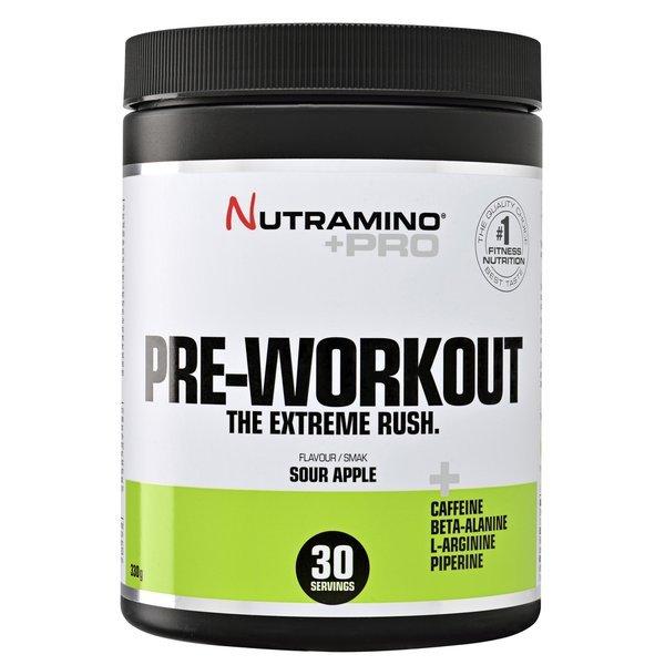 Nutramino +Pro Poudre Pre-Workout Pomme Verte 315g