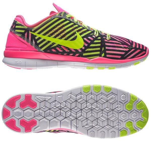online store 7d447 e2c0d Nike Free 5.0 TR FIT 5 Print Pink Pow Black Volt Women. Read more about the  product. - running shoes. - running shoes image shadow