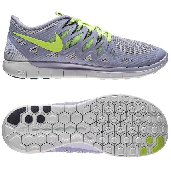 57728dae6ba5 Nike Free Running Shoe 5.0 Titanium Pure Platinum Volt Women