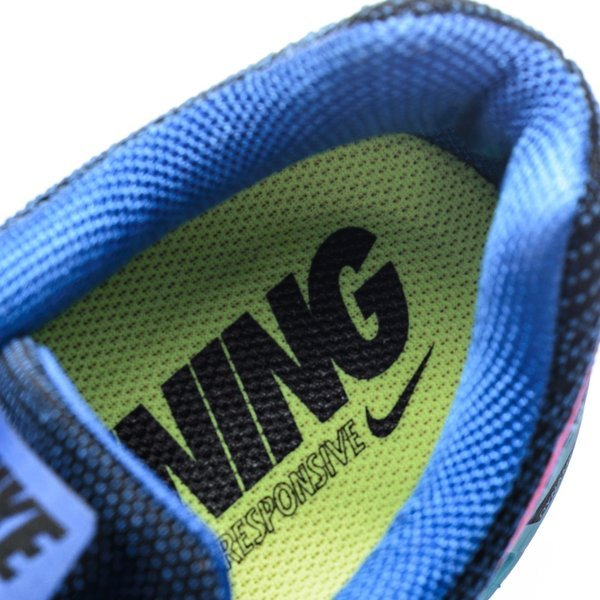 bf392d1a9a1d Nike Running Shoe Air Zoom Structure 18 Lyon Blue Black Pink Pow ...