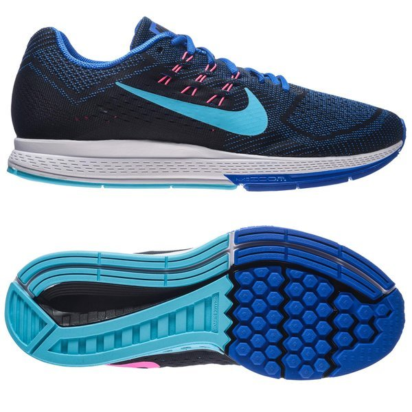 bf9f4a4995bd Nike Running Shoe Air Zoom Structure 18 Lyon Blue Black Pink Pow Clearwater  Women. Read more about the product. - running shoes. - running shoes ...