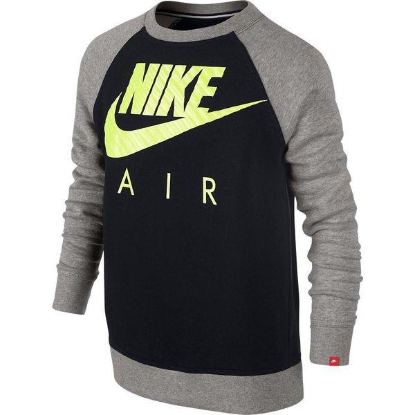 eb771650ca0 Nike Sweatshirt YA76 HBR BF Zwart/Grijs Kinderen | www.unisportstore.nl
