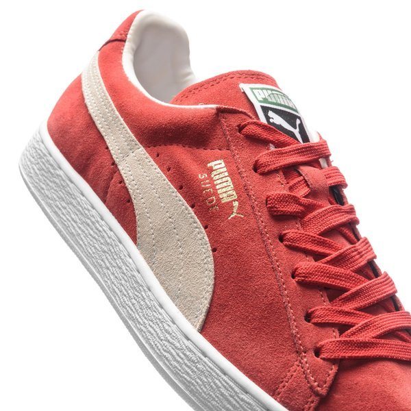 Puma Suede Classic Team Regal RedWhite