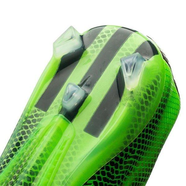 Adidas Adizero F50 Pelle Fg - Solare Verde / Bianco / Interno Nero ICiplnc