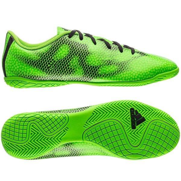 adidas F5 Adizero IN Solar Green/Core
