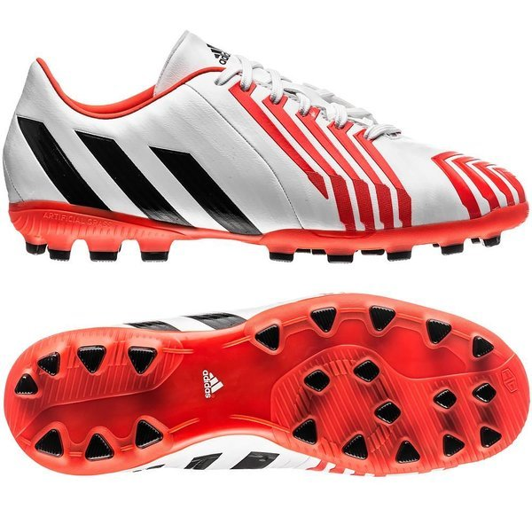 fluido Clan Superposición  adidas Predator Absolado Instinct AG White/Core Black/Solar Red Kids |  www.unisportstore.com