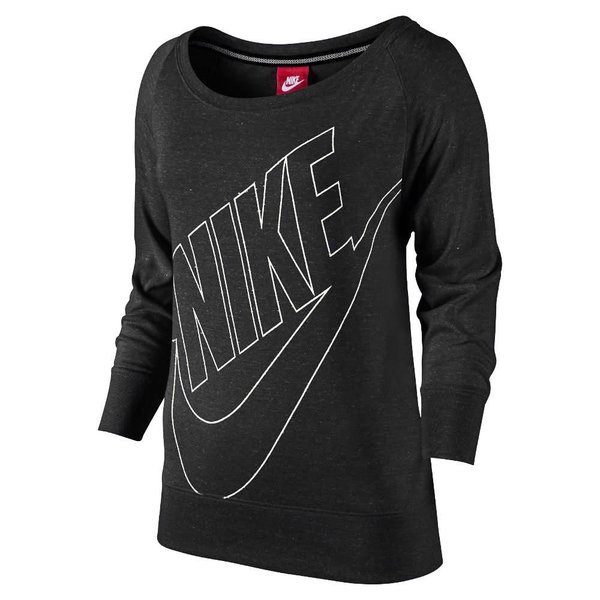 881218c35c0 Nike Sweatshirt Gym Vintage Zwart/Wit Vrouwen | www.unisportstore.nl