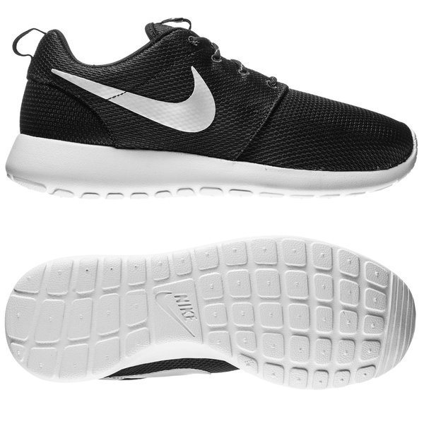 Noirblancgris Chaussures Run Nike Femme Roshe xwtv8gqF