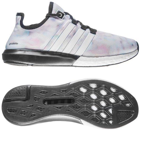 58afe8df1bd Adidas Running Shoe Climachill Gazelle Boost Core Black White Women ...