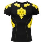 G-Form T-Shirt Compression Pro-X Sort/Gul