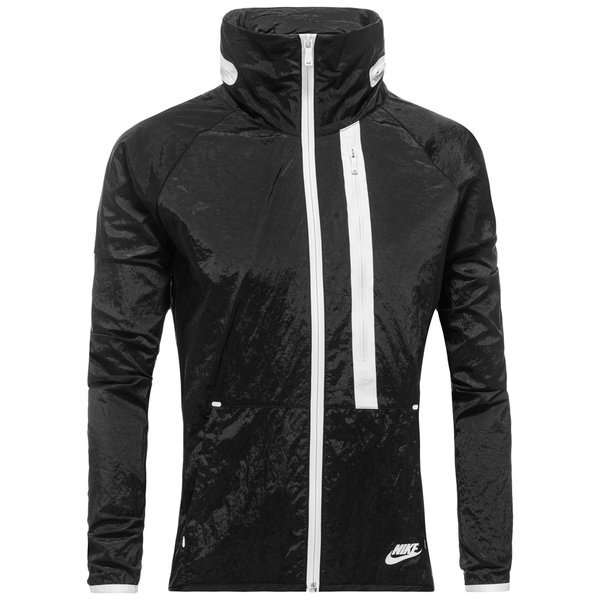 Nike Aeroshield Gloves: Nike Jacket Tech Aeroshield Moto Cape Black/White Women