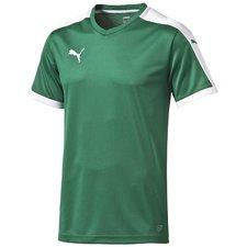 Spilletrøje fra Puma i den klassiske Pitch model. Trøjen har Puma-logo på højre bryst, og har et mesh rygpanel, som øger åndbarhed og ventilation. Trøjen