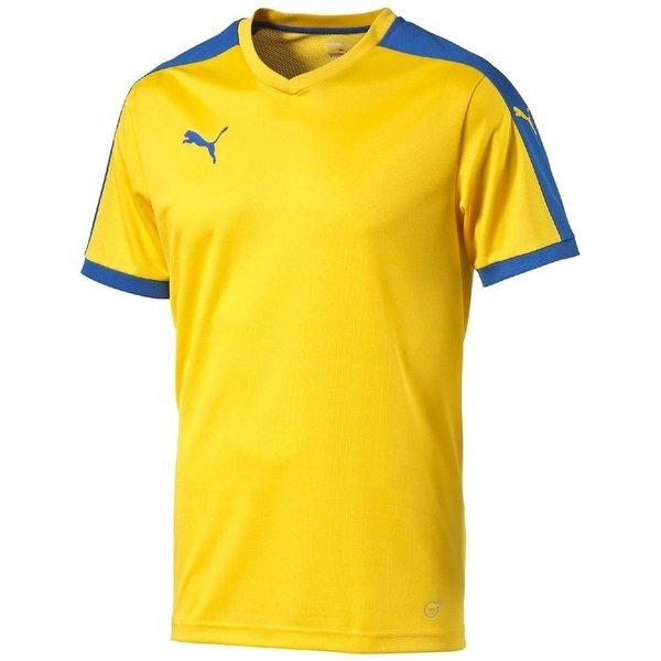 buy popular 993fa 64633 Puma Football Shirt Pitch Team Yellow/Royal Kids   www ...