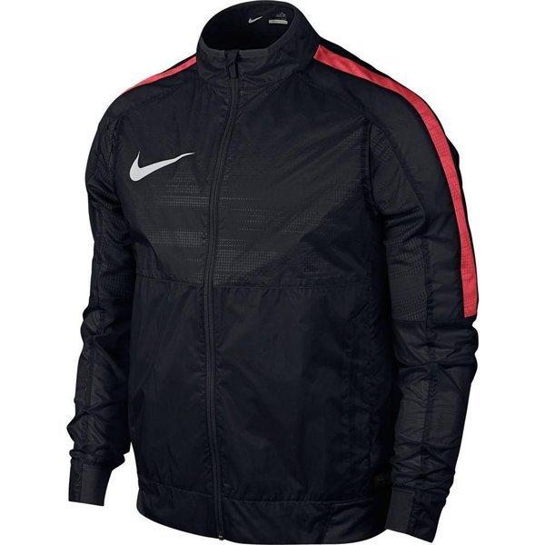 Nike Træningsjakke GPX Lightweight Woven SortRød