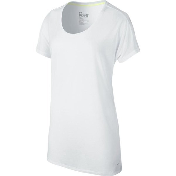 81a1996e Nike Training T-Shirt Dri-FIT Touch Club Boyfriend White Women   www ...