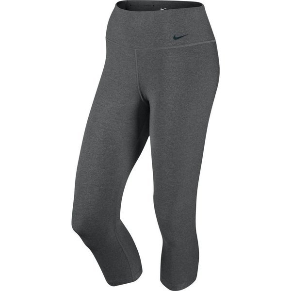 ddd5c65e5cd50 Nike Tights Legend 2.0 Poly Capri Charcoal Heather/Black Women. Read more  about the product. - training pants. - training pants image shadow